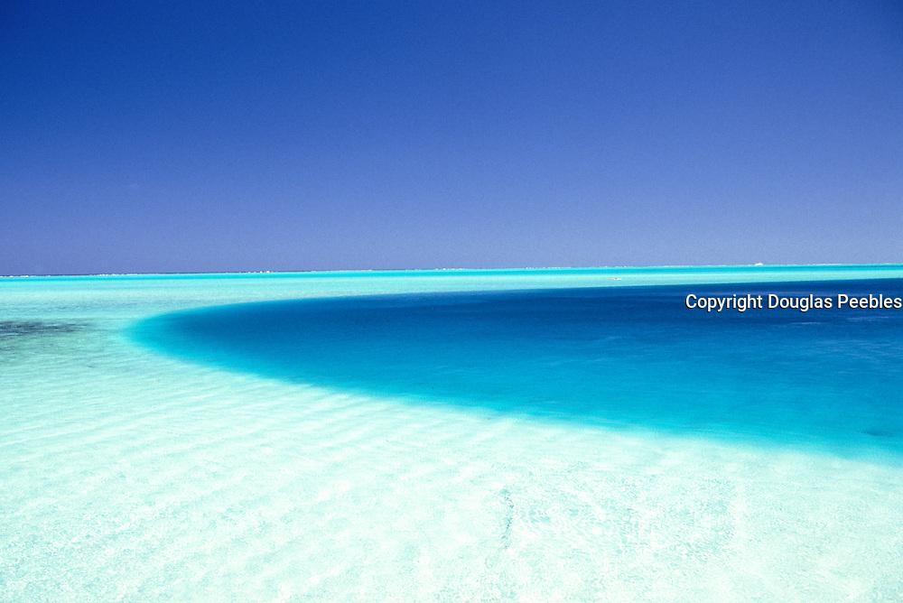Ocean, Bora Bora, French Polynesia<br />