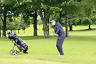 Paul Burke (Mullingar) on the 2nd during round 1 of The Mullingar Scratch Cup in Mullingar Golf Club on Sunday 3rd August 2014.<br /> Picture:  Thos Caffrey / www.golffile.ie