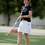 RANCHO MIRAGE, CA - MARCH 24, 2005:  Annika Sorenstam competes in the Kraft Nabisco Championship in Rancho Mirage, CA on March 25, 2005. The tournament is the first major of the year for the LPGA tour.  (Photo by Todd Bigelow/Aurora)
