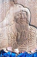 Mongolie, Province du Khenti, Delgerkhaan, Statue de Gengis Khan // Gengis Khan statue, Delgerkhaan, Khentii province, Mongolia