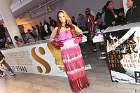 Dascha Polanco attends Klarna STYLE360 NYFW Hosts S by Serena Fashion Show
