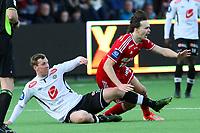 Tippeliga Fotball 01.Mai 2014. Eliteserie. Foto Christian Blom Digitalsport Sogndal - Rosenborg. Ole Kristian Selnæs RBK. Ørjan Hopen Sogndal.