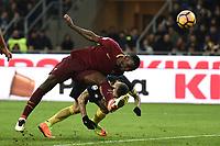 Antonio Rudiger, Mauro Icardi<br /> Milano 26-02-2017 Football Calcio serie A 2016/2017 Inter - AS Roma foto Image Sport/Insidefoto
