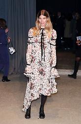 Veronika Heilbrunner attending the Burberry London Fashion Week Show at Makers House, Manette Street, London
