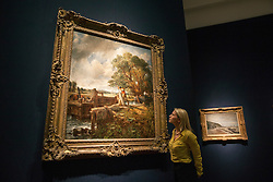 © licensed to London News Pictures. London, UK 12/06/2012. John Constable's The Lock goes to auction in London and expected to be sold for £20 million by Christie's. Photo credit: Tolga Akmen/LNP