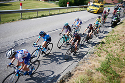 Trixi Worrack (GER) at La Course by Le Tour de France 2018, a 112.5 km road race from Annecy to Le Grand Bornand, France on July 17, 2018. Photo by Sean Robinson/velofocus.com