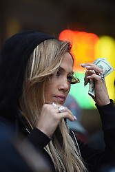 March 29, 2019 - New York, NY, USA - March 29, 2019 New York City..Jennifer Lopez was seen on location for 'Hustlers' on March 29, 2019 in New York City. (Credit Image: © Kristin Callahan/Ace Pictures via ZUMA Press)
