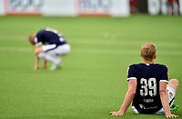 Fotball , 5. juli 2019 , Eliteserien , Strømsgodset - Stabæk 0-2<br /> Lars Sætra  39 og Herman Stengel, SIF depper etter nok et tap