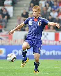 30.05.2010, UPC Arena, Graz, AUT, WM Vorbereitung, Japan vs England, im Bild Keisuke Honda, Japan, EXPA Pictures © 2010, PhotoCredit: EXPA/ S. Zangrando / SPORTIDA PHOTO AGENCY