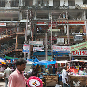 Dhaka, Bangladesh. Dhaka is the capital of Bangladesh and one of the world's mega cities with more than 15 mill inhabitants.