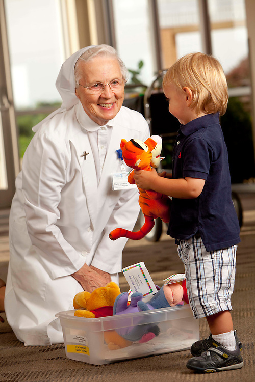 Sister Loretta Schreiber at St. Joseph's in Breese. (Mike Roemer Photography)