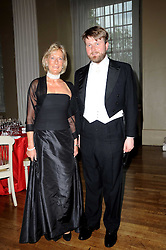 PRINCESS OLGA OF RUSSIA and ALEXANDER SUSCENKO Chairman of the ball at the 13th annual Russian Summer Ball held at the Banqueting House, Whitehall, London on 14th June 2008.<br />