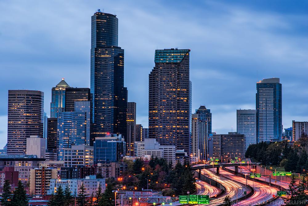 November Morning in Seattle