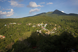 View From Mount Popa