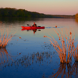 Kayaking the Potomac in early spring