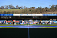 Adams Park during the EFL Sky Bet Championship match between Wycombe Wanderers and Norwich City at Adams Park, High Wycombe, England on 28 February 2021.