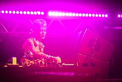 Mari Kruger durante a 25ª edição do Planeta Atlântida. O maior festival de música do Sul do Brasil ocorre nos dias 31 Janeiro e 01 de fevereiro, na SABA, praia de Atlântida, no Litoral Norte do Rio Grande do Sul. FOTO: <br /> Gustavo Granata/ Agência Preview