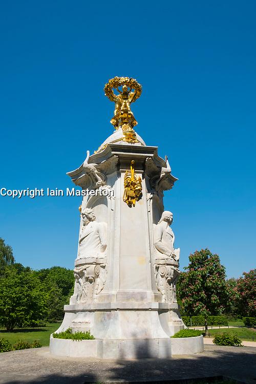 Beethoven-Haydn-Mozart Monument in Tiergarten park in Berlin, Germany