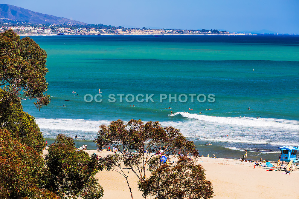 Surfing At Doheny State Park In Dana Point