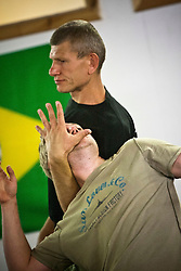 Institute Of Krav Maga Scotland Systema seminar. Alexander Maksimtsov, President of Federation of Russian Martial Art Ukraine (www.frbiu.kiev.ua) and Chief instructor of Police SpetsNaz, held a class in Battlefield Gym Glasgow on Monday 15th August..©pic : Michael Schofield.