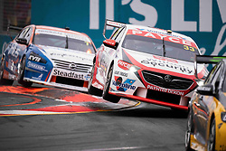 October 21, 2018 - Gold Coast, QLD, U.S. - GOLD COAST, QLD - OCTOBER 21: Garth Tander / Chris Pither in the Wilson Security Racing GRM Holden Commodore (33) during the race at The 2018 Vodafone Supercar Gold Coast 600 in Queensland, Australia. (Photo by Speed Media/Icon Sportswire) (Credit Image: © Speed Media/Icon SMI via ZUMA Press)
