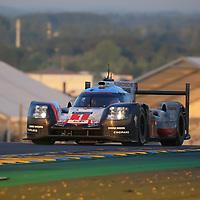 #1, Porsche Team, Porsche 919 Hybrid, driven by: Neel Jani, Andre Lotterer, Nick Tandy, 24 Heures Du Mans 85th Edition, 18/06/2017,