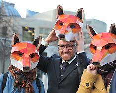 Foxhunting Bill demonstration | Edinburgh | 7 December 2017