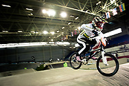 #21 (REYNOLDS Lauren) AUS at the UCI BMX Supercross World Cup in Manchester, UK