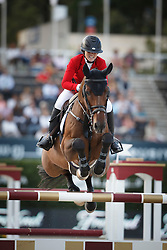 Augier De Moussac Emma, (CZE), Charly Brown <br /> First Round<br /> Furusiyya FEI Nations Cup Jumping Final - Barcelona 2015<br /> © Dirk Caremans<br /> 24/09/15