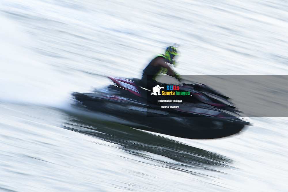 PATTAYA, THAILAND - DECEMBER 09: Waleed Alsharshani (11) of Qatar in action during the Pro Runabout GP Moto4 at the Thai Airways International Jet Ski World Cup 2018, Jomtien Beach, Pattaya, Thailand on December 09, 2018. <br /> .<br /> .<br /> .<br /> (Photo by: Naratip Golf Srisupab/SEALs Sports Images)<br /> .<br /> Any image use must include a mandatory credit line adjacent to the content which should read: Naratip Golf Srisupab/SEALs Sports Images