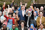 Koning bezoekt Talentfabriek010 in Rotterdam