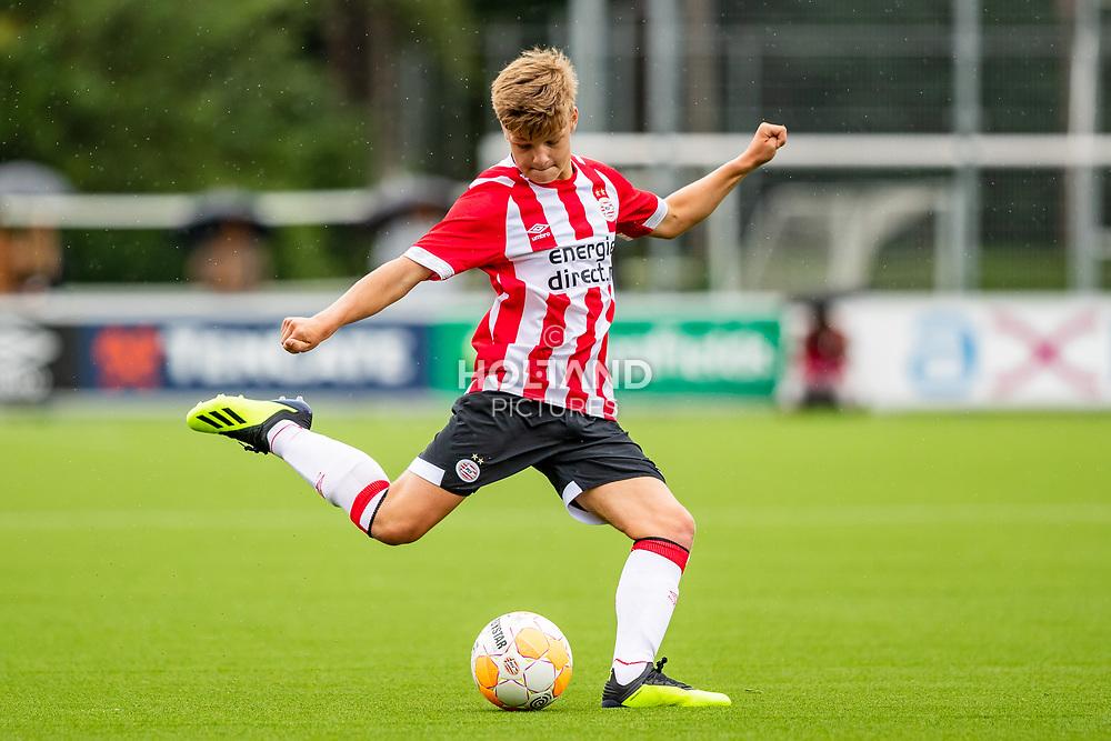 25-08-2018: Voetbal: O17 PSV v NEC OSS: Eindhoven<br /> Onder 17, JO17-1, Jeugd Supercup Onder 17 Supercup<br /> Seizoen 2018-2019<br /> #2 Thomas Cox (PSV o17)