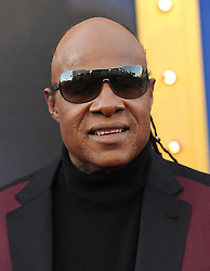 December 3, 2016 - Los Angeles, California, U.S. - Stevie Wonder arrives for the premiere of the film 'Sing' at the Microsoft Theatre. (Credit Image: © Lisa O'Connor via ZUMA Wire)
