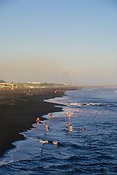 Children Playing On San Jose Beach