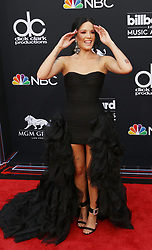 May 20, 2018 - Las Vegas, Nevada, United States of America - Singer Halsey attends the 2018 Billboard  Magazine  Music  Awards on May 20, 2018 at MGM Grand Arena in Las Vegas, Nevada (Credit Image: © Marcel Thomas via ZUMA Wire)