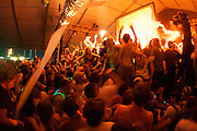 MANCHESTER, TN - JUNE 12:  Girl Talk performs at the 2009 Bonnaroo Music and Arts Festival on June 12, 2009 in Manchester, Tennessee. Photo by Bryan Rinnert/3Sight Photography