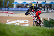 #32 (CRAIN Brooke) USA at Round 2 of the 2020 UCI BMX Supercross World Cup in Shepparton, Australia.