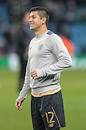 Cristian Gamboa (Celtic) before the Champions League match between Manchester City and Celtic at the Etihad Stadium, Manchester, England on 6 December 2016. Photo by Mark P Doherty.