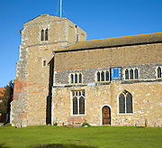 The Church of Saint Leonard, Southminster, Essex, England. The medieval St Leonard's Church dates mainly from the 15th century. One well-known rector Rev Alexander John Scott who was personal chaplain to Admiral Lord Nelson.