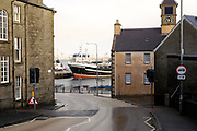Tuesday 29th January 2013: View of the harbour in Lerwick, Shetland. Copyright 2013 Peter Horrell