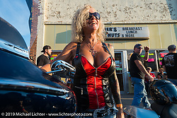 Main Street Sturgis during the annual Black Hills Motorcycle Rally. SD, USA. August 8, 2014.  Photography ©2014 Michael Lichter., 2014.