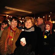 Inside the Cider shack during Candle Light Stroll at Strawbery Banke, Portsmouth, NH Dec. 2010