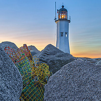 Massachusetts lighthouses sunset fine art photography artworks of Scituate Lighthouse in Scituate, Massachusetts.<br /> <br /> New England lighthouse photography images of the Scituate Lighthouse are available as museum quality photography prints, canvas prints, acrylic prints, wood prints or metal prints. Fine art prints may be framed and matted to the individual liking and interior design decorating needs.<br /> <br /> Good light and happy photo making!<br /> <br /> My best,<br /> <br /> Juergen