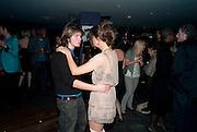 OONA CHAPLIN; MIKE DOXFORD, Proud Cabaret launch. Mark Lane. London. EC3. 3 November 2009