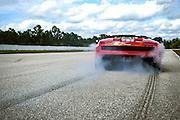 Lamborghini Esperienza, Palm Beach International Raceway. Lamborghini Gallardo burnout.