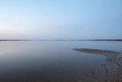 dusk on the water in Amagansett, NY