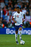 England forward Marcus Rashford (Manchester United) during the UEFA Nations League semi-final match between Netherlands and England at Estadio D. Afonso Henriques, Guimaraes, Portugal on 6 June 2019.