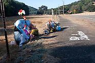 Isaac Brott Roadside Memorial _ Day 32 to 64