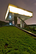 A view of the Sifang Art Museum, designed by architect Steven Holl, in Nanjing, Jiangsu Province,  China on 28 June  2013.