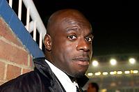 Photo: Daniel Hambury.<br />Peterborough United v Swindon Town. LDV Vans Trophy. 22/11/2005.<br />Iffy Onuora, Swindon manager.